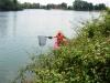 Arrachage de Jussie lac de Bègles