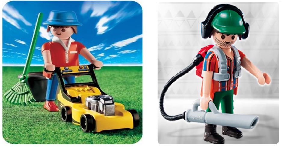 Playmobils jardiniers