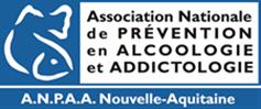 logo de l'ANPAA : association nationale de prévention en alcoologie et addioctologie