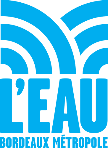 Logo de L'Eau de Bordeaux Métropole