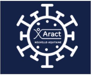 logo de l'ARACT, agence régionale pour l'amélioration des conditions de travail